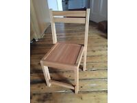 Solid Wood children's chairs new, unused