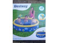 5ft Bestway easy set paddling pool