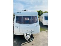 2006 lunar zenith 4 berth double dinette make double bunk beds at the back light weight easy to tow