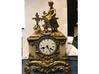 Antique 19th Century French Mantel Clock (Japy Freres/ Henry Marc)