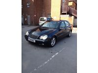2 OWNERS 2001 MERCEDES C CLASS MOT FEB 18 DRIVES LIKE NEW PX WELCOME QUICK SALE £899