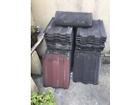 Approx 50 roof tiles free