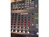 Dj mixer with effects