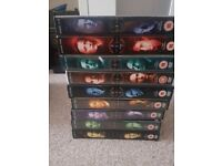 Xfiles 1-9 DVDs