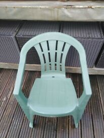 2 almost new garden chair - £12 for BOTH