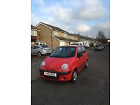 Daewoo Matiz 11mths mot red 2 owners 395