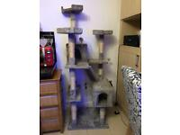 Large scratching post activity center