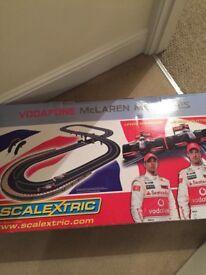 Scalextric McLaren Mercedes Jensen Lewis Edition plus extras