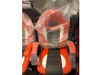 Orange office game chair nice look only £50