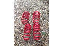 Mk5 vw gti lowering springs