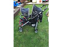 Cosatto twin/double pushchair in nice condition need gone asap