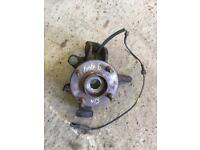 Ford Fiesta mk6 Nearside hub with ABS Essex SS17