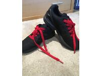 Kids uk size 3 black zx flux trainers