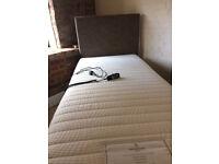 Electric adjustable single bed *Dreamworks* Could deliver