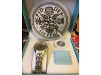 Brand New Ladies Six Pence Watch and Six Pence Set with Box - Rare