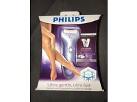 Philips Epilator with intergrated ice cooler and massage