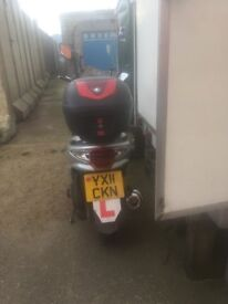 SYM VS 125CC (2011) GOOD CONDITION