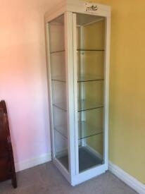 Large shop / home display cabinet with lights