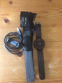 Garmin Forerunner 220 with Garmin heart rate monitor