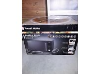 Russell hobbs family plus combination microwave