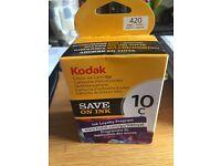 Kodak 10c Colour Brand new in box & 10b in packet