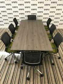 Vitra Adhoc Boardroom Table With a NEW Mountain larch top