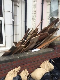Scrap wood, timber for free.