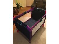 Geuther wuality Getman travel cot