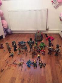 TMNT joblot of toys