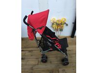 Mamas & Papas Swirt Buggy with Lascal buggy board