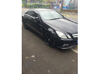 2011 11 reg Mercedes Benz e class coupe Black AMG - audit a5 TT a3 a4 bmw 1 series 3 5 4 X5 7 X3