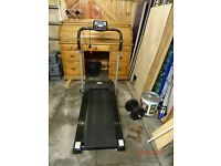 HOMCOM Electric variable speed treadmill