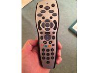 Sky + remote