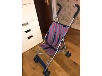 Scallywags lightweight buggy / Light Pushchair