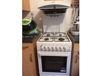 Beko Gas Cooker Eye Level Grill Had less than a year ,selling because of move £75