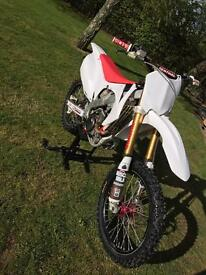 CRF250R **25.4hours from new** swap for yz125