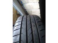 Goodyear RunOnFlat 225 45 18 Tyre 8mm tread in West London Area