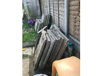 Flagstones - approx 15 Rectangular - Free