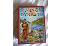 Ming Dynasty - Strategy Board Game - Excellent Condition