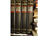 Murder case books complete