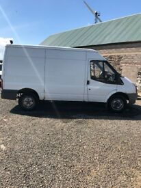 Ford Transit Mwb Rwd medium Roof Panel Van