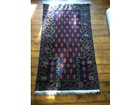 """TRADITIONAL RUG PERSIAN STYLE 60""""X30"""" GOOD CONDITION FROM HOUSE OF FRASER"""