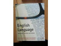 English Language books job lot