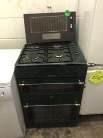 Integrated cooker hob and air extractor in full working order can deliver