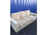 Lovely Modern Charcoal Grey 3 Seater Sofa. Excellent Condition. Can Deliver