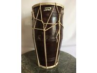 Large Authentic Indian Dholak Drum