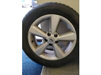 4 x Nissan Qashqai Juke 17 ` Alloy Wheels Delivery Possible UK with without winter tyres