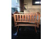 Saplings gracie glider wooden baby Crib