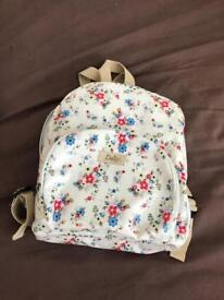 Nice childs backpack with flowers