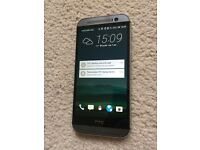 Excellent condition HTC ONE M8 16GB SMART PHONE with extras